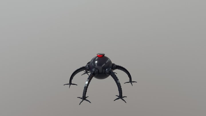 Omnidroid 3D Model