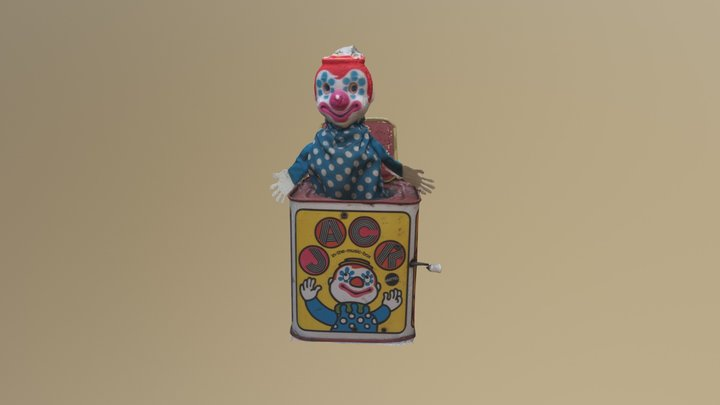 Jack in the music box 3D Model
