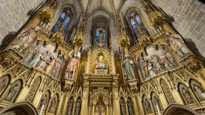 Retablo/Altarpiece San Saturnino 3D Model