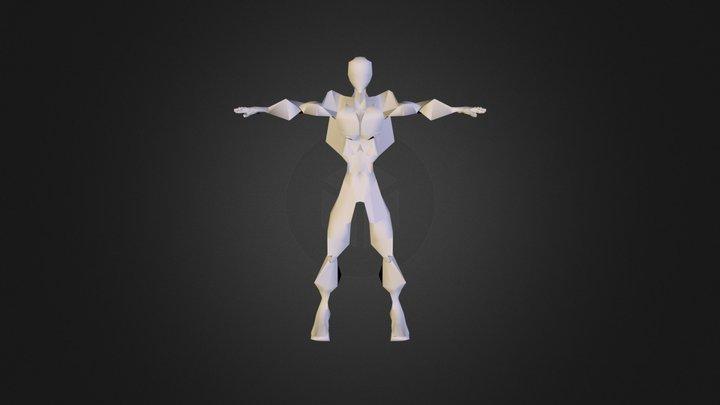 Logoman V008 3D Model