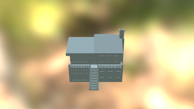 Pretty House 3D Model