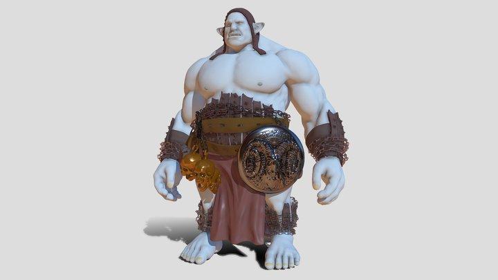 Oger wip 3D Model