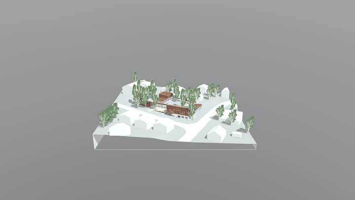 Vermo community concept by Willow architect 3D Model