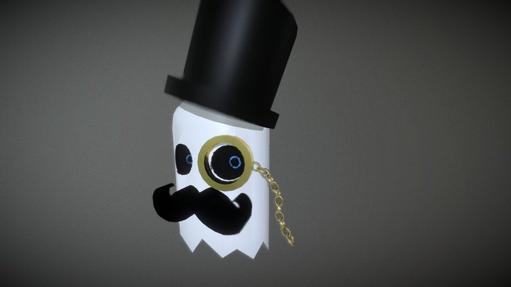 Dapper Ghost 3D Model