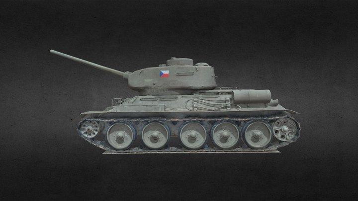 T-34 3D Model