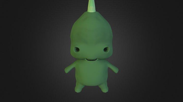 Little Monster 3D Model