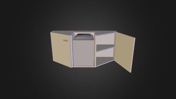 Dolap tasarımı 3D Model