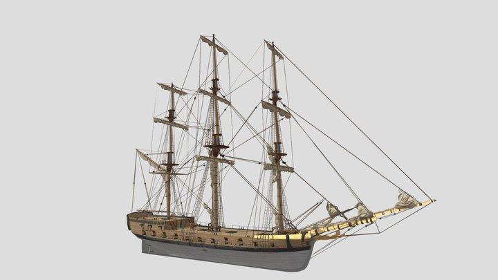 Swedish Hemmema Styrbjörn 3D Model