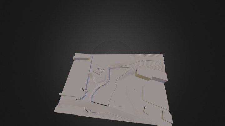 Donggook Chapel Site 1:500 Digital Site Model 3D Model
