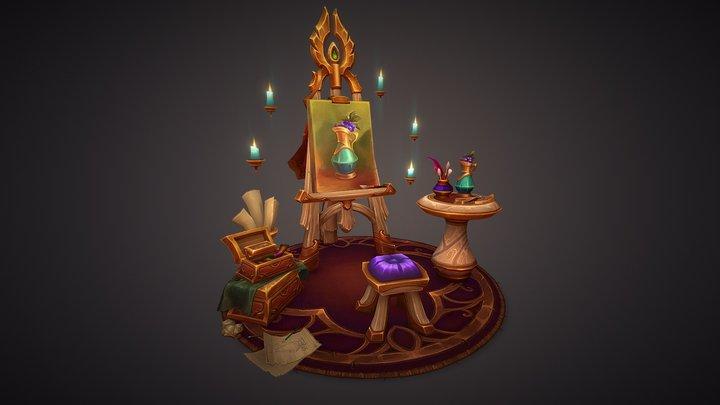 Still Life - Blood Elf Props 3D Model