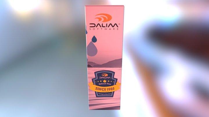 DALIM SOFTWARE GmbH Packaging BOTTLE 3D Model
