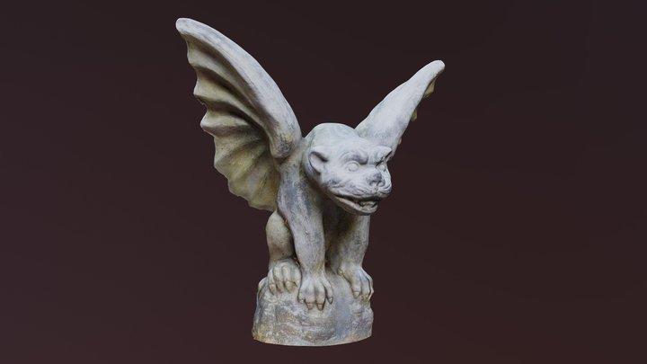Gargoyle Statue (Photogrammetry) 3D Model