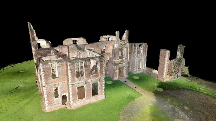 Houghton House (Existing) - 3D Point Cloud 3D Model