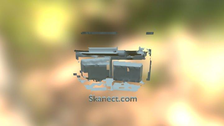 test lab skanect same time as kinect studeio 3D Model