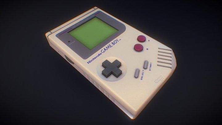 Gameready Gameboy asset 3D Model