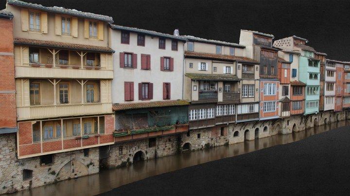 La Venise du Languedoc, Castres (81) 3D Model