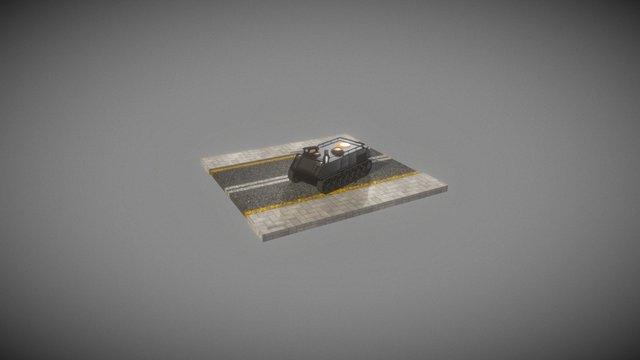 LITE TANK - SCORPION 3D Model
