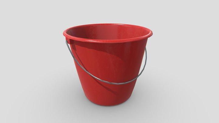 CC0 - Bucket 3 3D Model