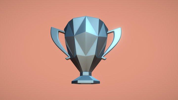 Clash Royale | Legendary Trophy 3D Model
