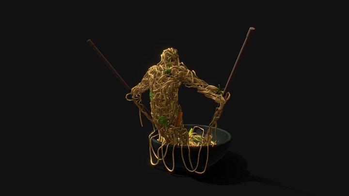 Spaghetti Slayer 3D Model