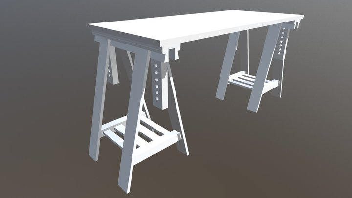 My Desk 3D Model