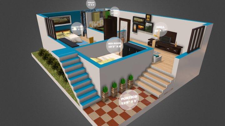 K.A.S MDU 002 3D Model
