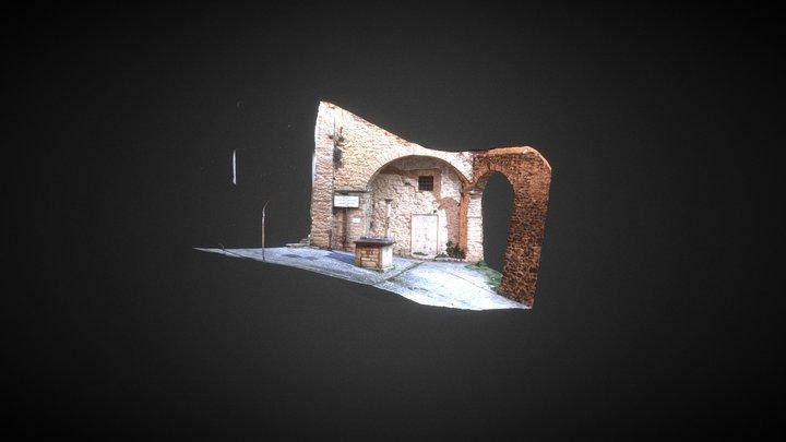 San Mamiliano - Valnerina 3D Model