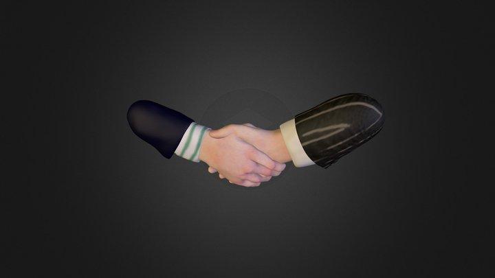 Hand Logo for client 3D Model