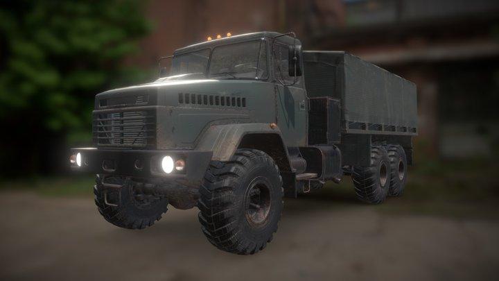 Military Truck 3D Model