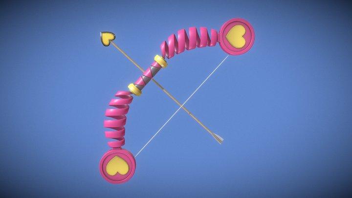 Disgaea Bow - Toy Bow 3D Model