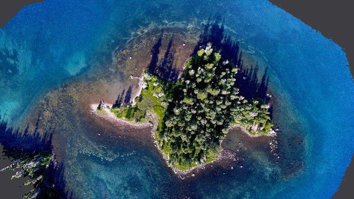 Mystery Island 3D Model