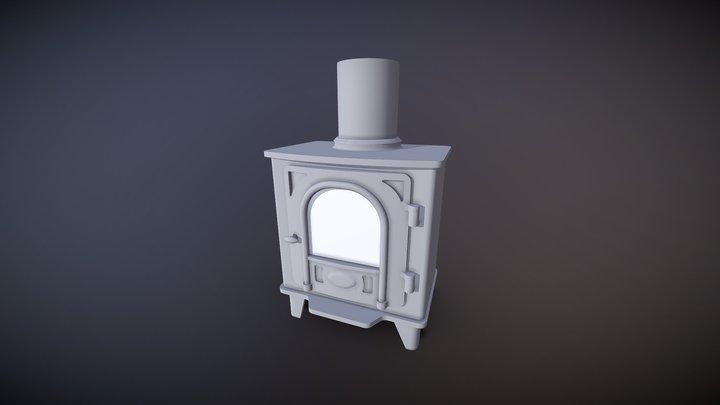 Woodburner 3D Model