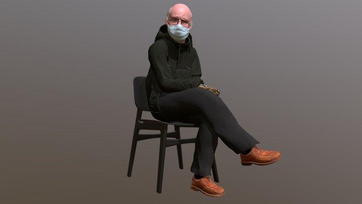 It's just Bernie being Bernie 3D Model