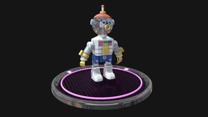 Nono the robot (futur) 3D Model