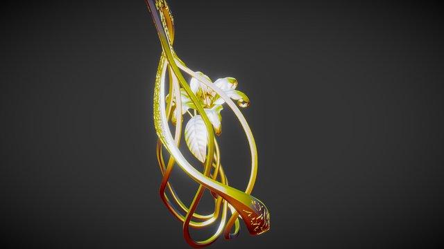 DragonSword 01 3D Model