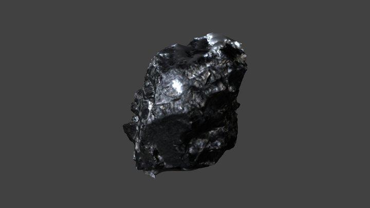 Anthracite Coal 3D Model