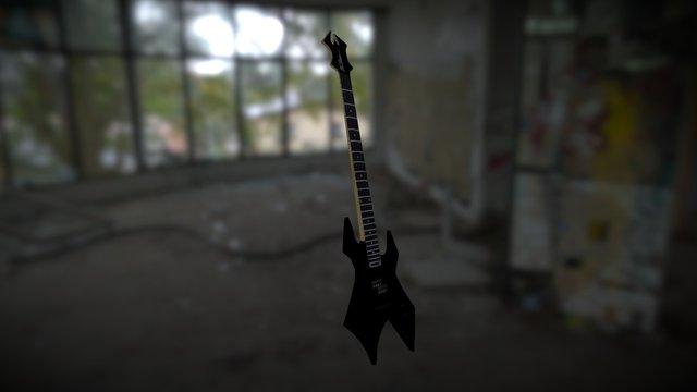 BcRich Warlock Bass 3D Model