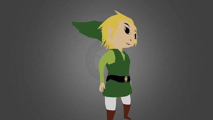 Toon Link 3D Model
