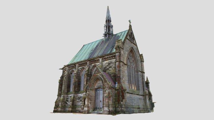 Scotland: Vicarsford Cemetery, Leng Chapel 3D Model