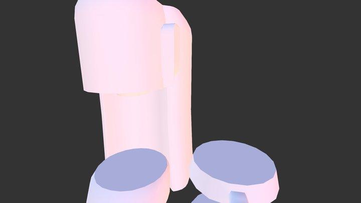 coffee_machine_betty 3D Model