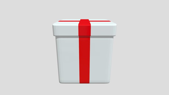 FNaF Gift Box 3D Model