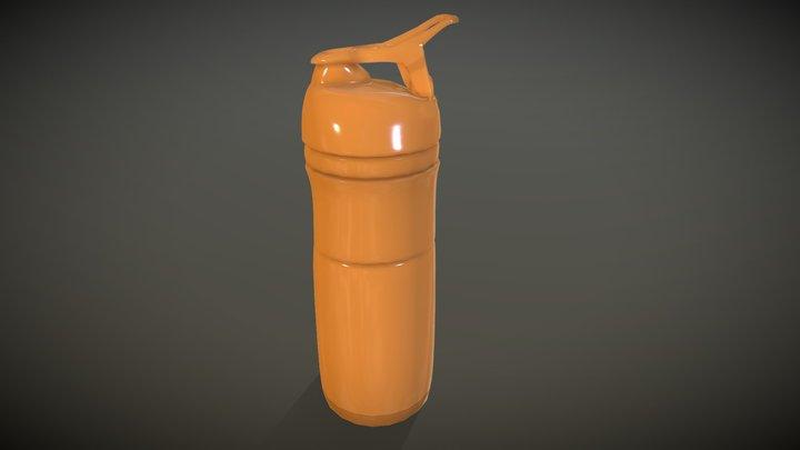 Shaker Bottle 3D Model