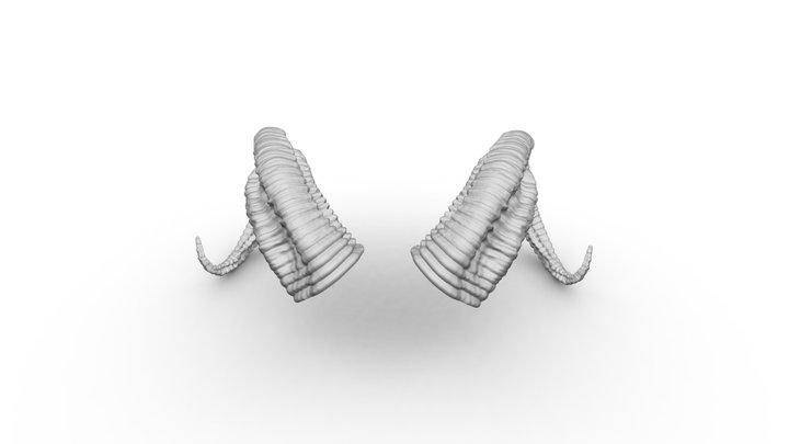 Horns sculpt 3D Model