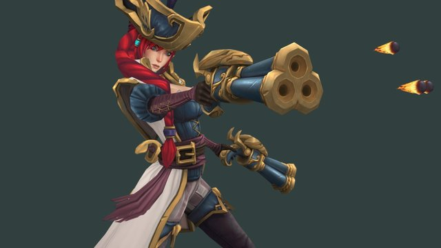 Captain Fortune 3D Model