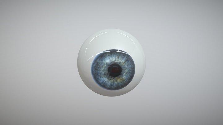 Globo Ocular 3D Model