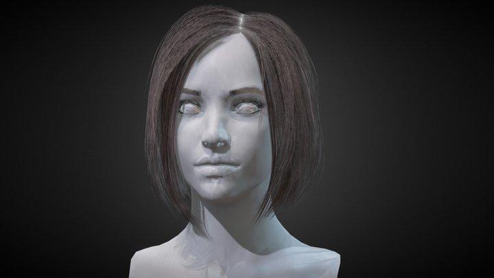 Hair 3D Model