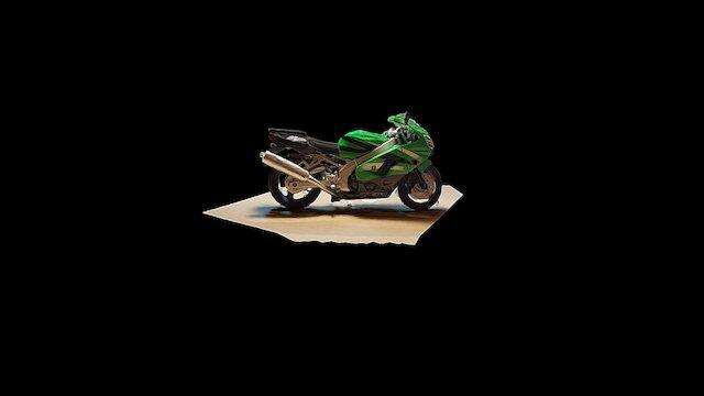 Kawasaki ZX-9R Ninja model zabawki 3D Model