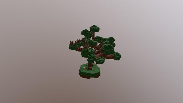 Tree Village 3D Model