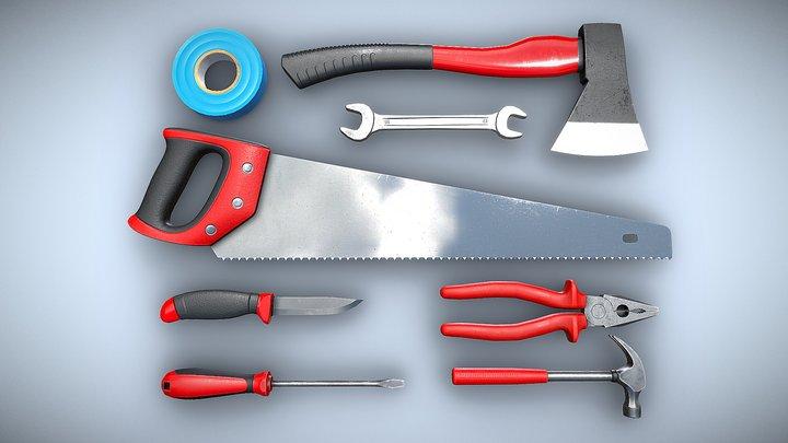 PBR Tools 3D Model