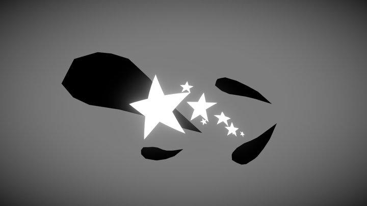 Inktober Star 3D Model